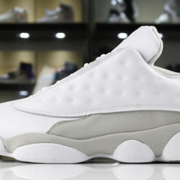 9aa7d4b68aa Shoes   New Air Jordan 13 Retro Low Pure Money White Whi   Poshmark